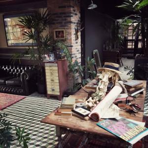Wnętrze pewnego hotelu w Bangkoku